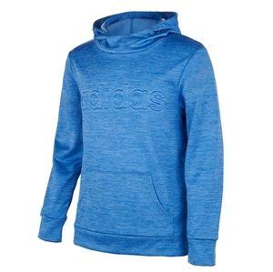 NWT Girl's Adidas Embrossed  Fleece Hoodie